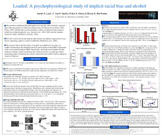 Loaded: A psychophysiological study of implicit racial bias and alcohol