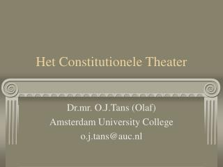Het Constitutionele Theater