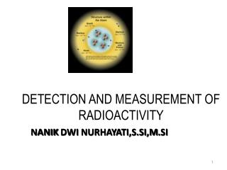 DETECTION AND MEASUREMENT OF RADIOACTIVITY