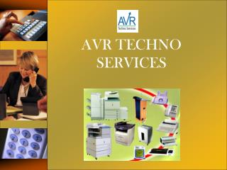 AVR TECHNO SERVICES