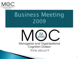 Business Meeting 2009