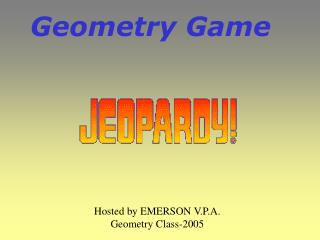 Geometry Game
