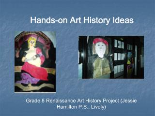 Hands-on Art History Ideas