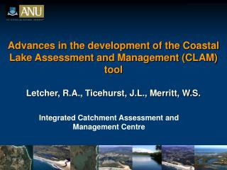 Integrated Catchment Assessment and Management Centre