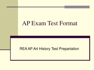 AP Exam Test Format