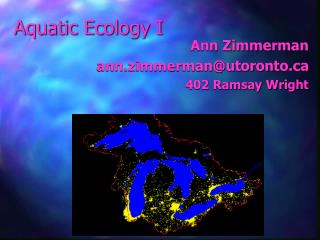 Aquatic Ecology I