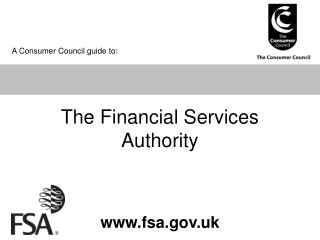 The Financial Services Authority