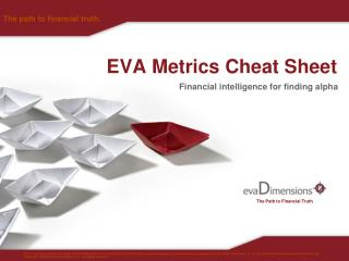 EVA Metrics Cheat Sheet