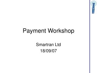 Payment Workshop