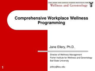 Comprehensive Workplace Wellness Programming
