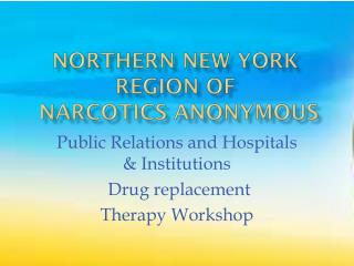 Northern New York Region of  Narcotics Anonymous