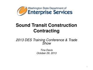 Sound Transit Construction Contracting
