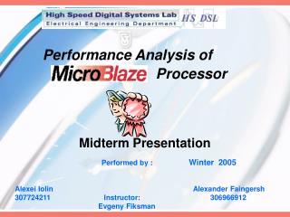Performance Analysis of   Processor