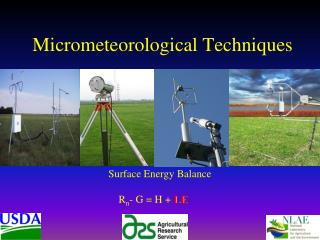 Micrometeorological Techniques