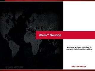 iCem SM  Service