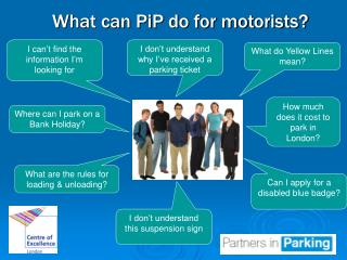 What can PiP do for motorists?