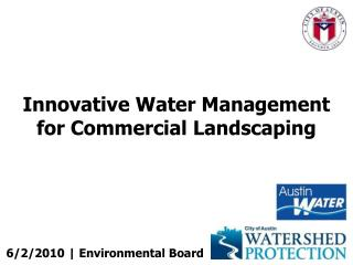Innovative Water Management for Commercial Landscaping