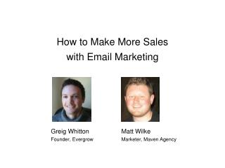 How to Make More Sales with Email Marketing