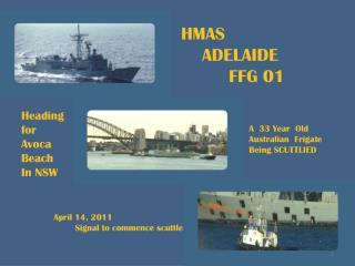 HMAS ADELAIDE FFG 01