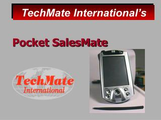 Pocket SalesMate