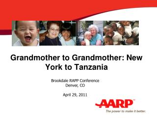 Grandmother to Grandmother: New York to Tanzania