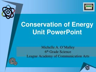 Conservation of Energy Unit PowerPoint