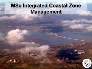 MSc Integrated Coastal Zone Management