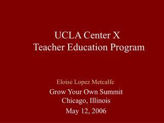 Eloise Lopez Metcalfe
