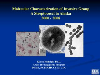 Molecular Characterization of Invasive Group A Streptococci in Alaska 2000 - 2008
