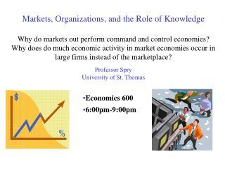 Economics 600 6:00pm-9:00pm