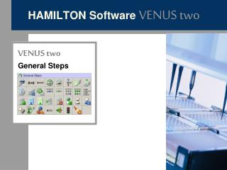 HAMILTON Software  VENUS two