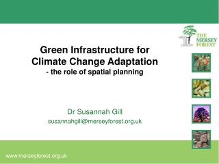 Green Infrastructure for Climate Change Adaptation - the role of spatial planning