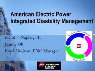 American Electric Power Integrated Disability Management