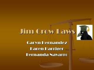 Jim Crow Laws