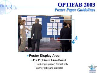 OPTIFAB 2003 Poster Paper Guidelines