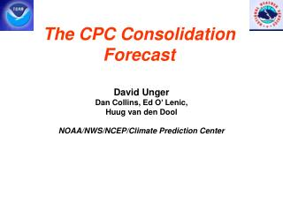 The CPC Consolidation Forecast
