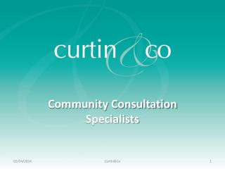 Community Consultation Specialists