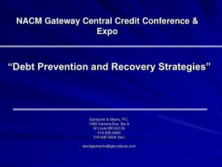NACM Gateway Central Credit Conference & Expo