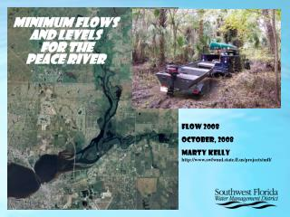 Minimum Flows and Levels  for the   Peace River