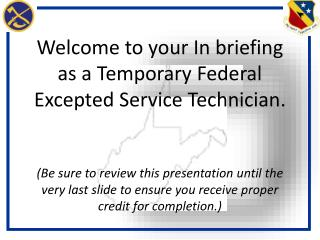 What is a Federal Excepted  Service  Technician?