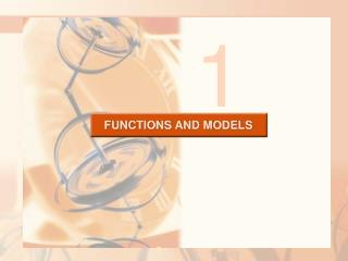 FUNCTIONS AND MODELS