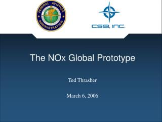 The NOx Global Prototype