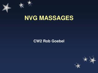 NVG MASSAGES