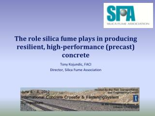 The role silica fume plays in producing resilient, high-performance (precast) concrete