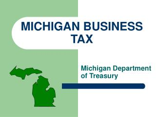 MICHIGAN BUSINESS TAX