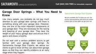 Sacramento Garage Door Experts