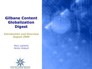 Gilbane Content Globalization Digest