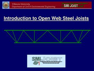 Introduction to Open Web Steel Joists