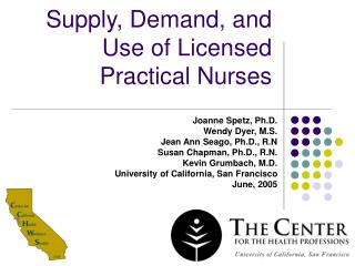 Supply, Demand, and Use of Licensed Practical Nurses