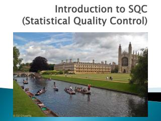Introduction to SQC (Statistical Quality Control)